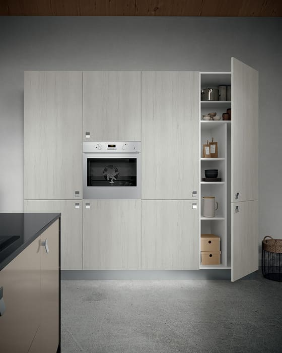 Colombini Casa Cucina Moderna Quadra colonna forno e dispensa 29b