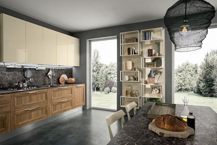 Colombini Casa Cucina Moderna Riviera avorio chiaro 46 47