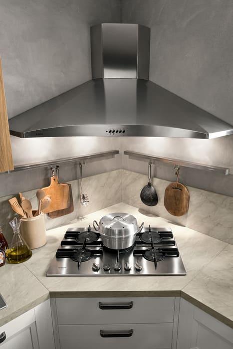 Colombini Casa Cucina Moderna Riviera cappa acciaio 87b