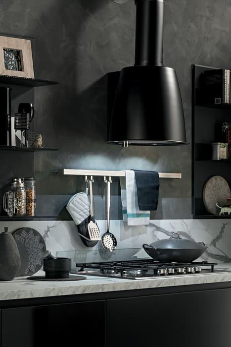 Colombini Casa Cucina Moderna Riviera cappa stile industriale 71