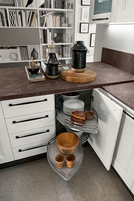 Colombini Casa Cucina Moderna Riviera cestelli estraibili 13c 1