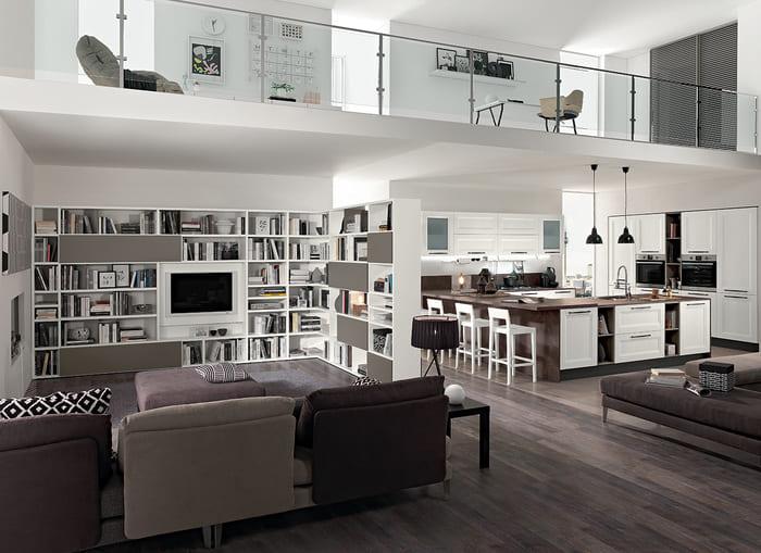 Colombini Casa Cucina Moderna Riviera composizione tipo 18 19 1