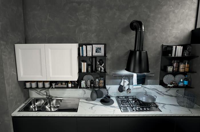 Colombini Casa Cucina Moderna Riviera elementi modulabili e personalizzabili 72b