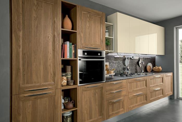Colombini Casa Cucina Moderna Riviera pensili laccati avorio 54a