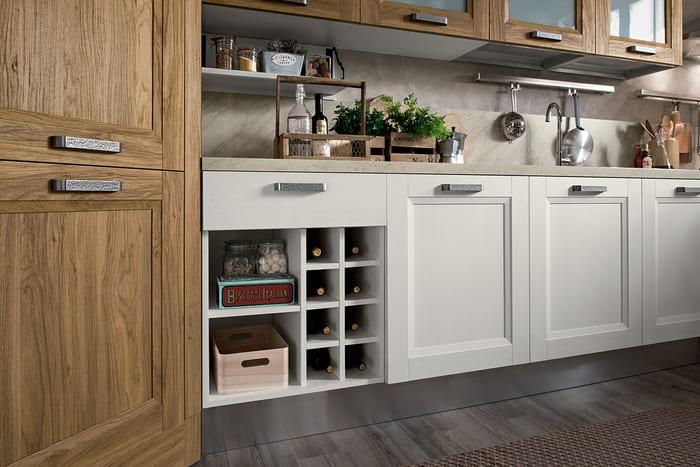 Colombini Casa Cucina Moderna Riviera sportelli e elementi giorno modulabili 88