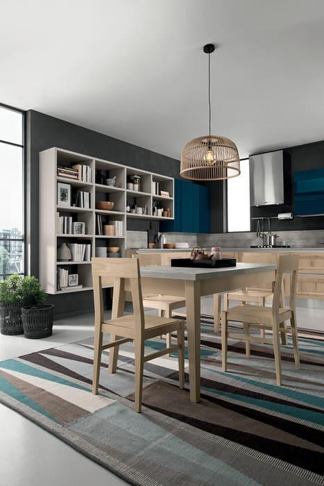 Colombini Casa Cucina Moderna Riviera tavolo abbinato 97