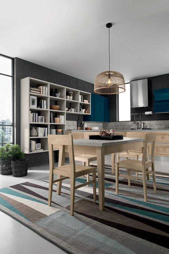 Colombini Casa Cucina Moderna Riviera tavolo coordinato 28