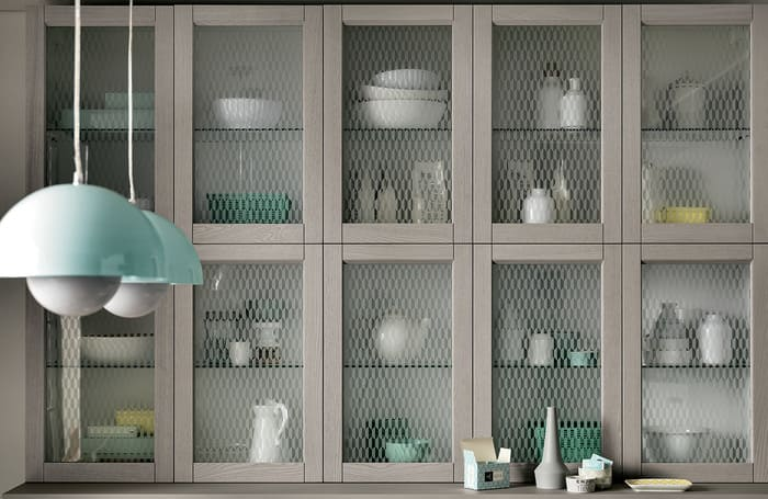Colombini Casa Cucina Moderna Talea anta vetro pag 34 35