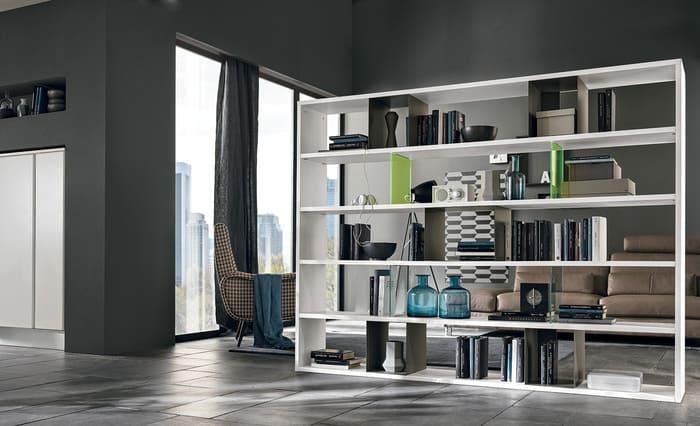 Colombini Casa Cucina Moderna Talea libreria infinity pag 63