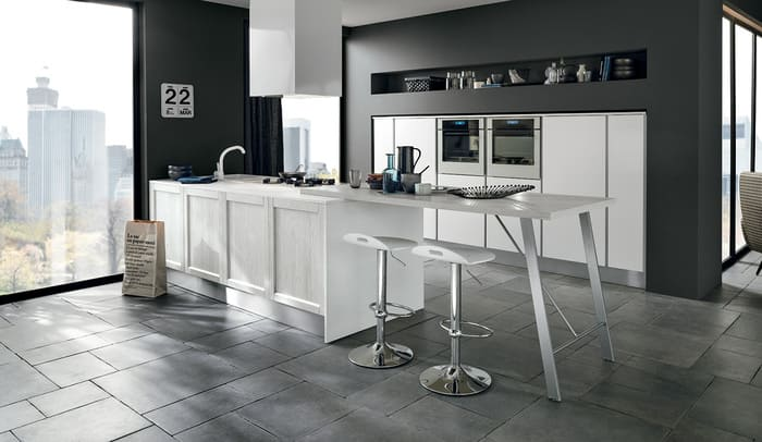 Colombini Casa Cucina Moderna Talea penisola pag 50 51