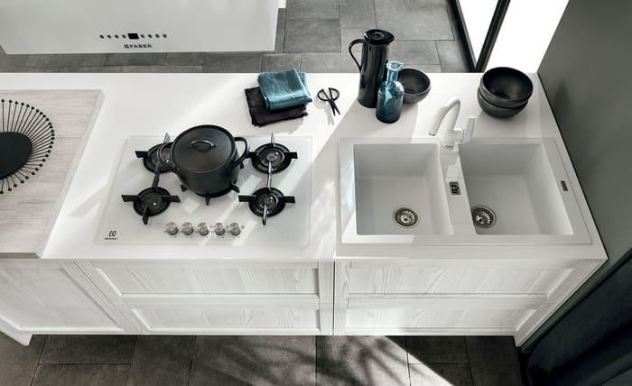 Colombini Casa Cucina Moderna Talea piano cottura pag 53