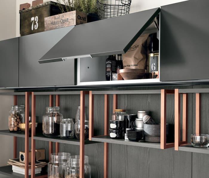 Colombini Casa Cucina Moderna Talea1 anta Blum pag 17a