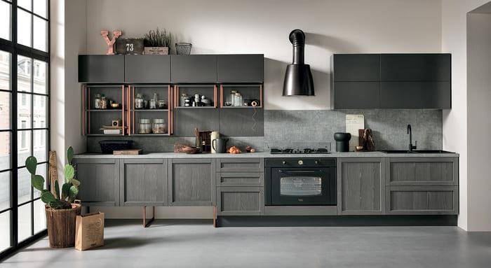 Colombini Casa Cucina Moderna Talea1 composizione tipo pag 12 13