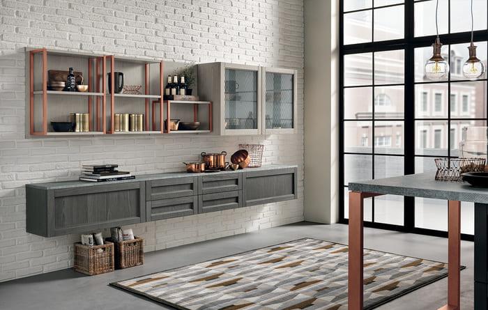 Colombini Casa Cucina Moderna Talea1 elementi Groove pag 22 23