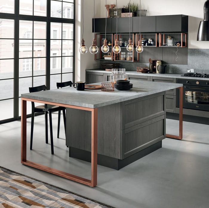Colombini Casa Cucina Moderna Talea1 isola pag 18