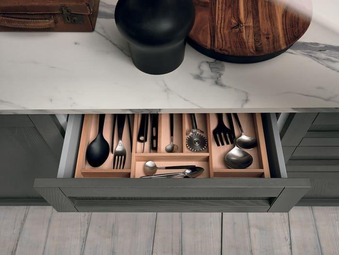 Colombini Casa Cucina Moderna Talea4 cassetto pag 72b