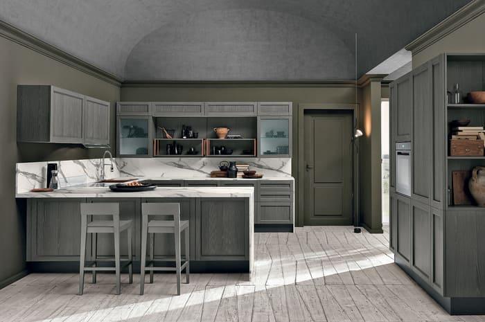 Colombini Casa Cucina Moderna Talea4 composizione tipo pag 70 71
