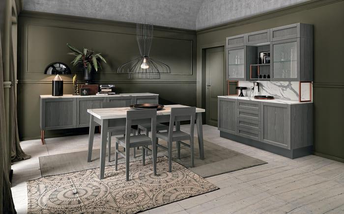 Colombini Casa Cucina Moderna Talea4 composizione tipo pag 80 81