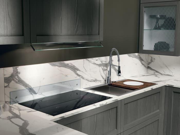 Colombini Casa Cucina Moderna Talea4 piano cottura lavabo pag 74