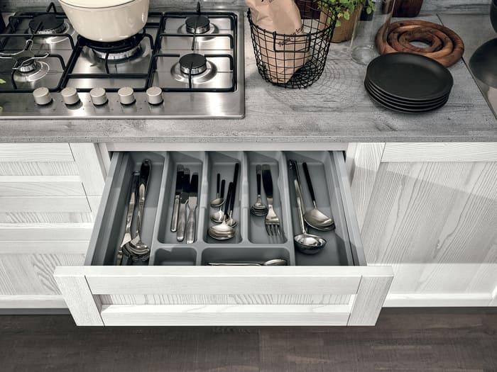 Colombini Casa Cucina Moderna Talea5 cassetto pag 96b