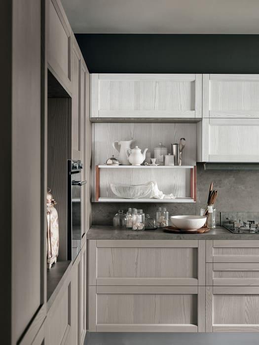 Colombini Casa Cucina Moderna Talea6 anta legno bianco pag 118