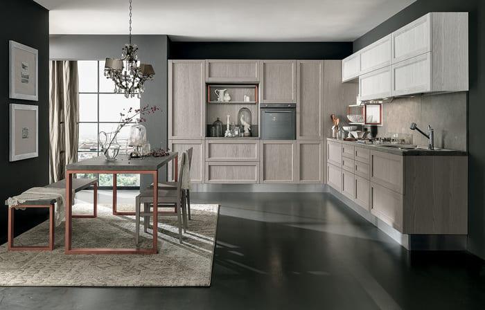 Colombini Casa Cucina Moderna Talea6 composizione tipo pag 121