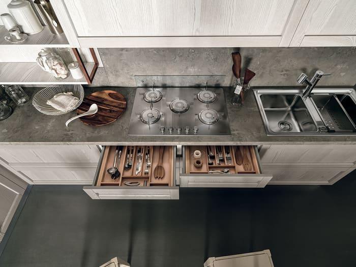 Colombini Casa Cucina Moderna Talea6 piano cottura pag 119b