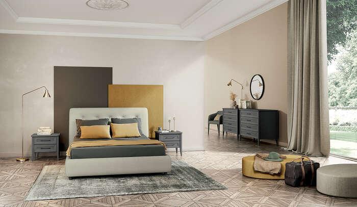 Colombini Casa camera matrimoniale stile contemporaneo Electa EM01 6 7