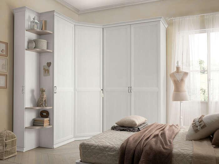 Colombini Casa camera per ragazzi armadio bianco AC213 153a