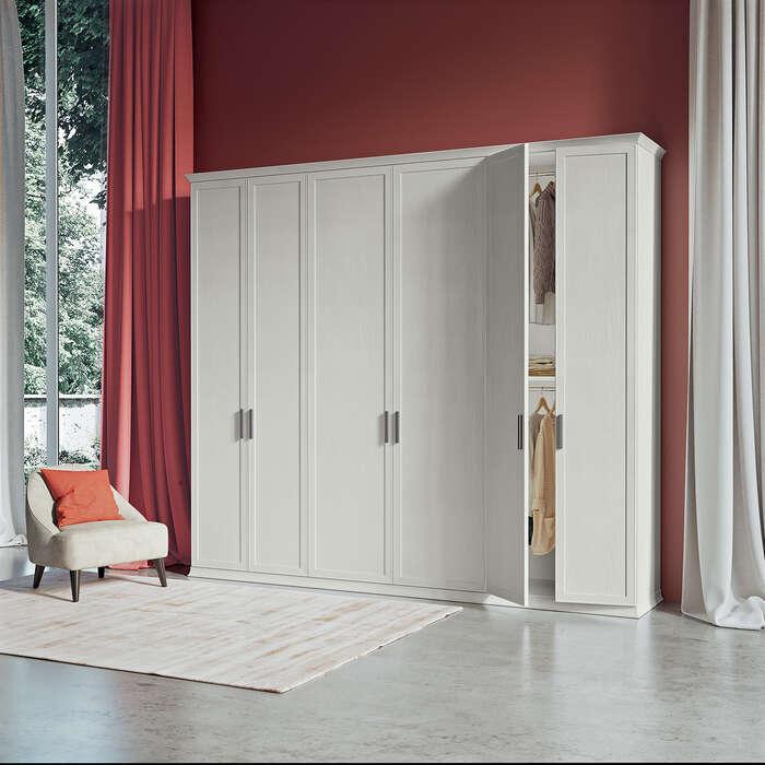 Colombini Casa camera per ragazzi armadio bianco EC2 21