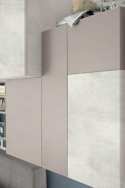 Colombini Casa camera per ragazzi pensili stile moderno Y234 162 a