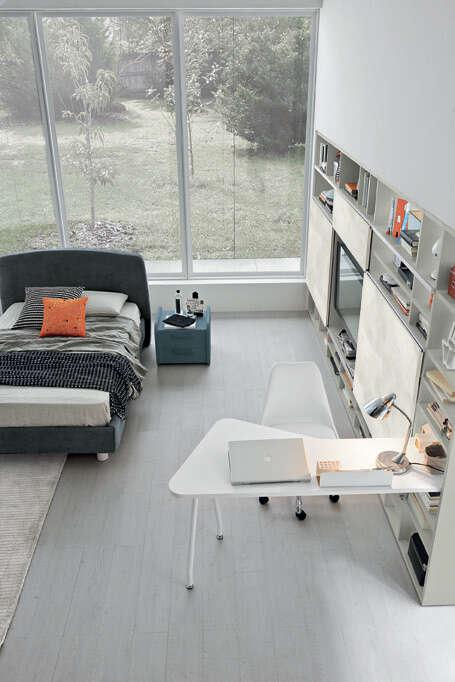 Colombini Casa camera per ragazzi scrivania moderna Y208 050