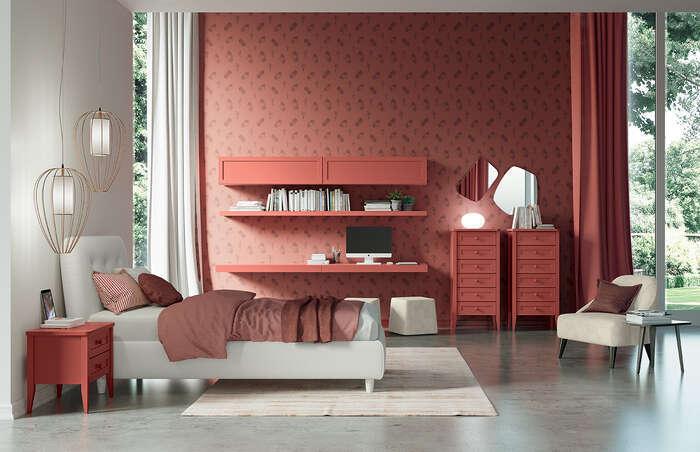 Colombini Casa camera per ragazzi stile moderno EC02 18 19