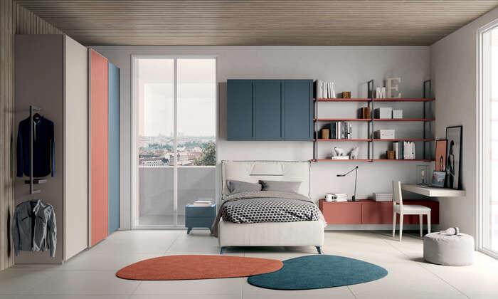 Colombini Casa camera per ragazzi stile moderno Y206 038 039 GEN