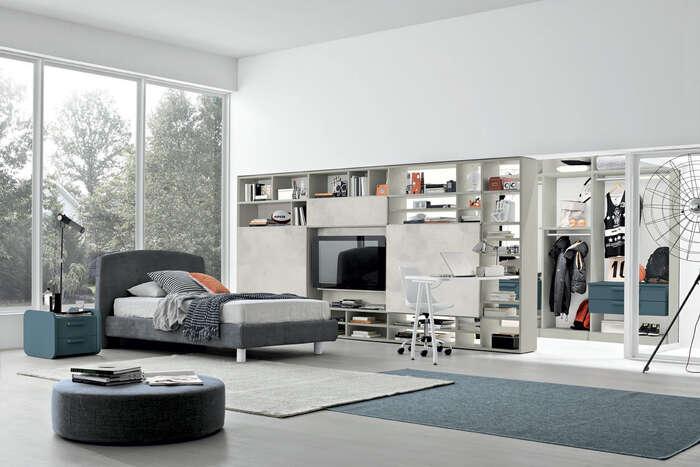 Colombini Casa camera per ragazzi stile moderno Y208 048 049 GEN