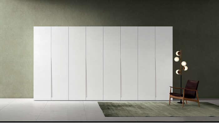 armadio anta battente in stile moderno fashion