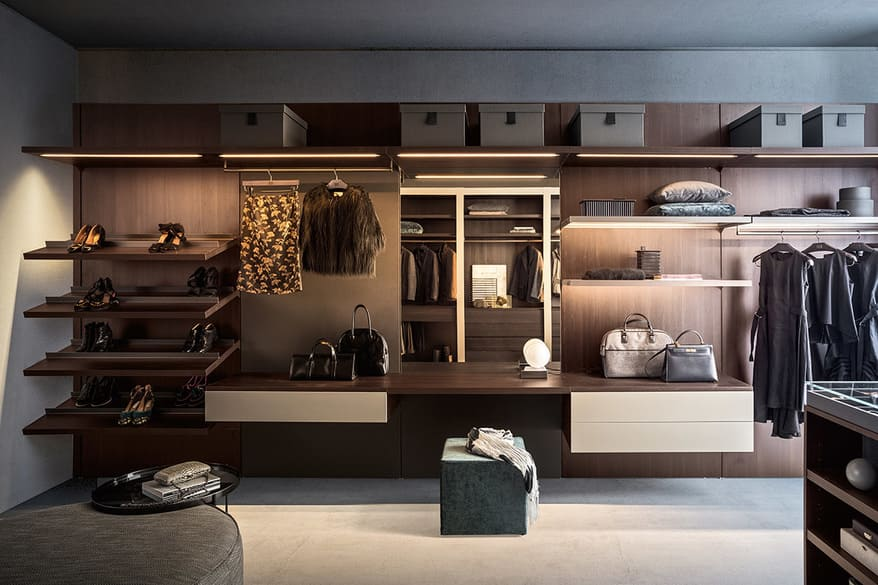 Anteprima walk in closet PIANCA 05 BIG O