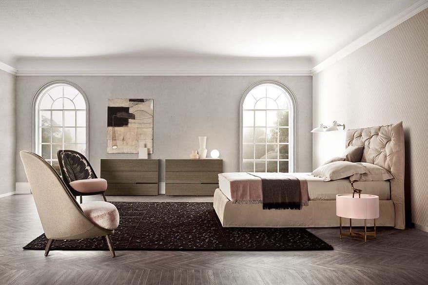 Impunto maxi bed design PIANCA