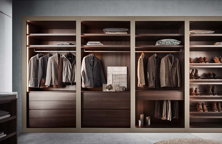 Sipario frame walk in closet PIANCA