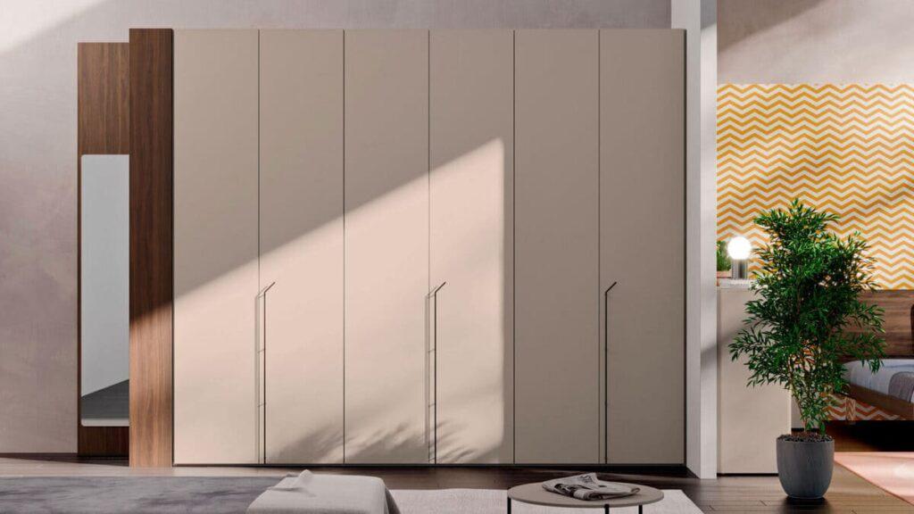 armadio battente con anta liscia e maniglia m36 0 orme 1600x900 1